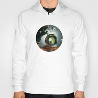 portal Hoodies featuring Portal by Peter Campbell