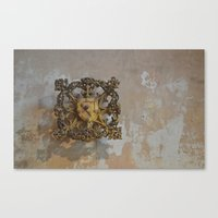 medieval Canvas Prints featuring Medieval Flair by Imaginibus