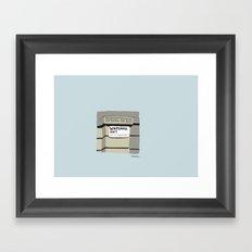Whitehall Framed Art Print