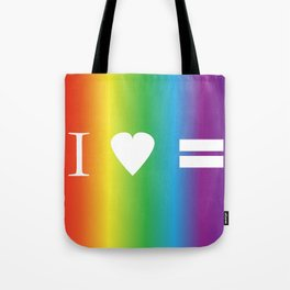 I heart Equality Tote Bag