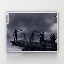 TWD Zombie Cliffhanger Laptop & iPad Skin