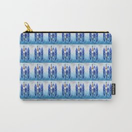 Wine Bottles Reflection Carry-All Pouch