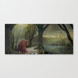 Labyrinth, Ludo, The Labyrinth, Concept Art Canvas Print