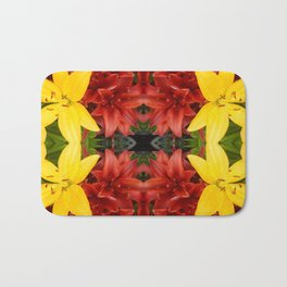 """A Gathering of Lilies"" Remix - 3 (1-1) [D4468~49] Bath Mat"