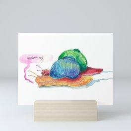 #winning Mini Art Print
