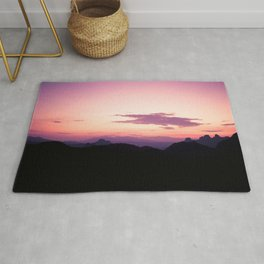 Fuchsia Sunset Rug