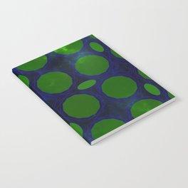 Pattern 3 Green Notebook