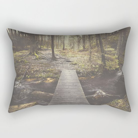 My home, the forest Rectangular Pillow