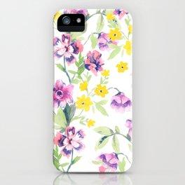 Garden Journal iPhone Case
