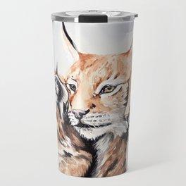 Big cats Travel Mug