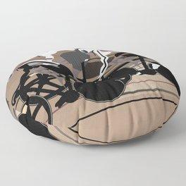 Velodrome Floor Pillow