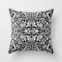 vertigo Throw Pillows featuring Vertigo by András Récze