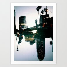 Landscapes (Los Angeles #4) Art Print