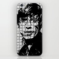 stephen king iPhone & iPod Skins featuring Stephen Hawking by Silvio Ledbetter