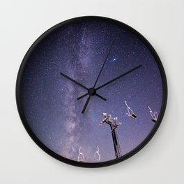 Chairlift  Wall Clock