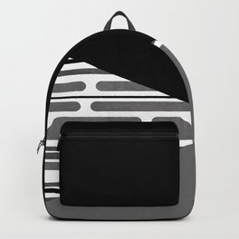 Geometric patchwork 6 Backpack