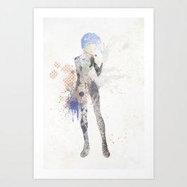 Rei. Art Print