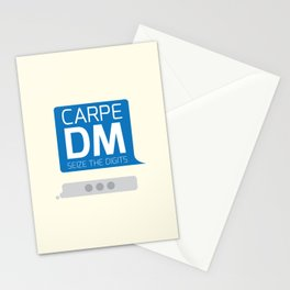 Carpe DM Stationery Cards