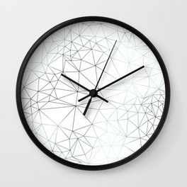 Cracked Ice - Graphic Wall Clock