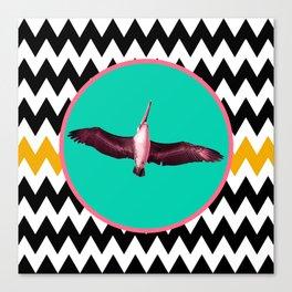 SWEET DREAMS, MAMA BIRD Canvas Print