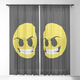 Mr.Mercedes Sheer Curtain