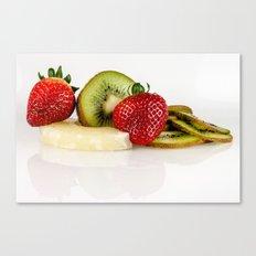 Exotic fruit Canvas Print