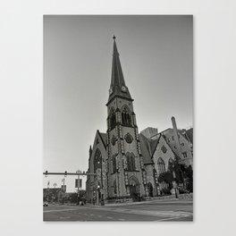 Detroit Architecture 1 Canvas Print