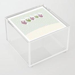 Christmas Socks Acrylic Box