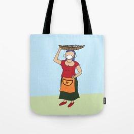 The Fisherwoman Tote Bag
