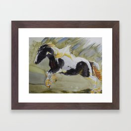 Gypsy Princess Framed Art Print