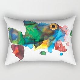 colorful fish Rectangular Pillow