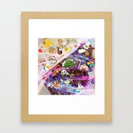 Summer Doner Kebab Framed Art Print