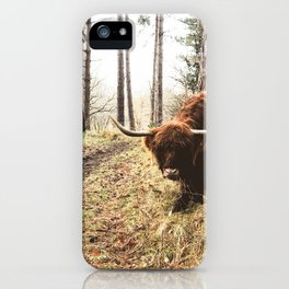 Wander the great outdoors iPhone Case