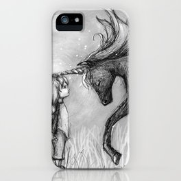 Enchantment of the Unicorn iPhone Case