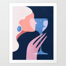 A memorable date  Art Print