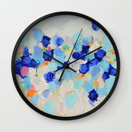 Amoebic Party No. 1 Wall Clock