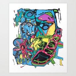 Abstract #5 Art Print