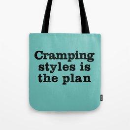 Cramping Styles Tote Bag