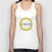 miles davis Tank Tops featuring 8 miles by Thomas Official