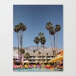 Palm Springs #society6 #decor #buyart Canvas Print