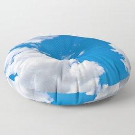 Clouds 3 Floor Pillow