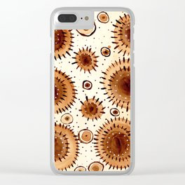 Burst Collection Clear iPhone Case
