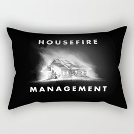 House Fire Box Logo Rectangular Pillow