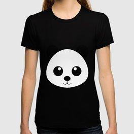Smiling  panda face T-shirt