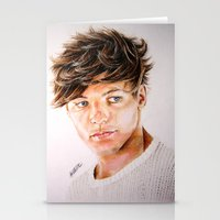 louis Stationery Cards featuring Louis  by Drawpassionn
