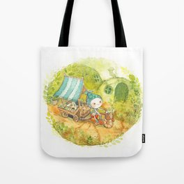 On the Road ! Tote Bag