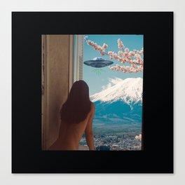 UFO GTFO Canvas Print