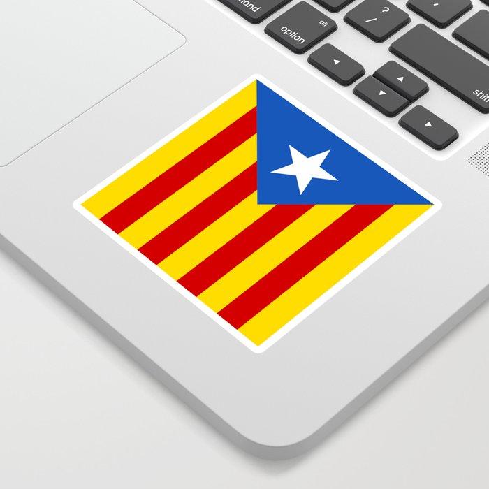 Estelada Blava - Senyeraestelada, HQ Banner version Sticker