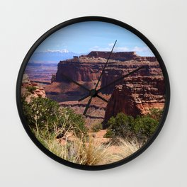 Shafer Canyon Overlook Wall Clock