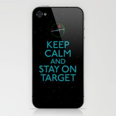 Stay on target iPhone & iPod Skin